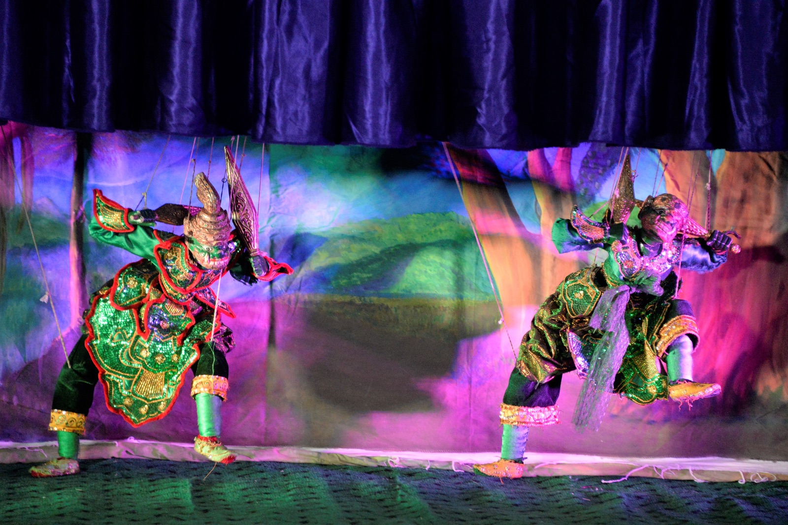 Myanmar Marionette Puppets (4) - New Naratif