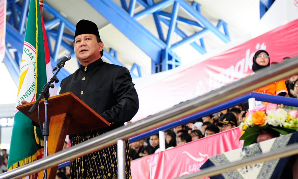 Prabowo Subianto - New Naratif