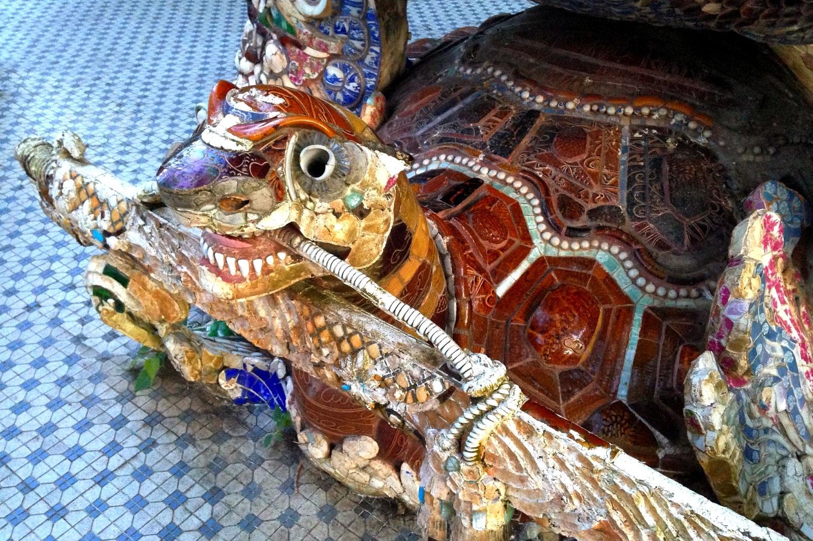 Turtle Statue - New Naratif