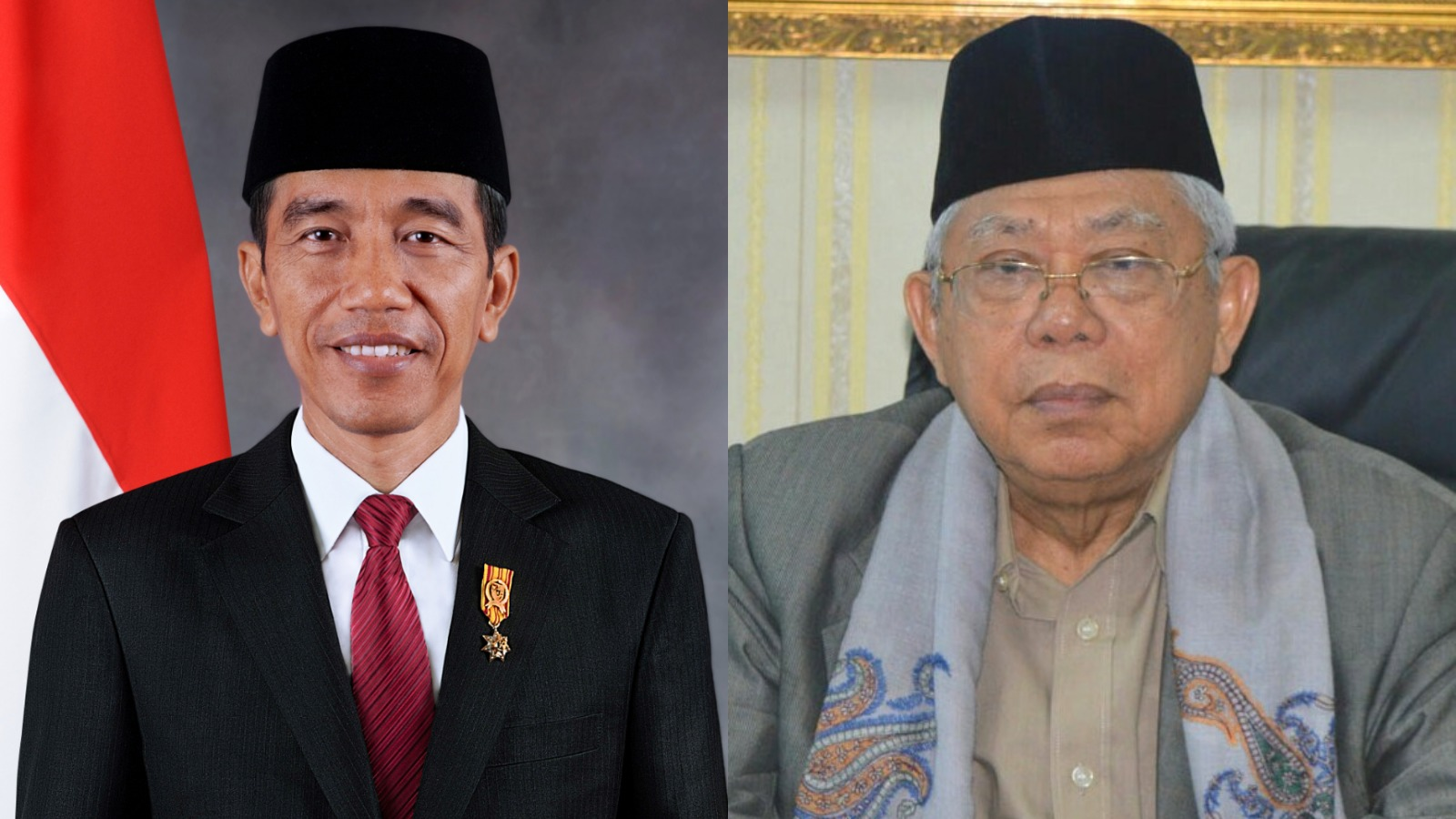Jokowi and Ma'ruf - New Naratif