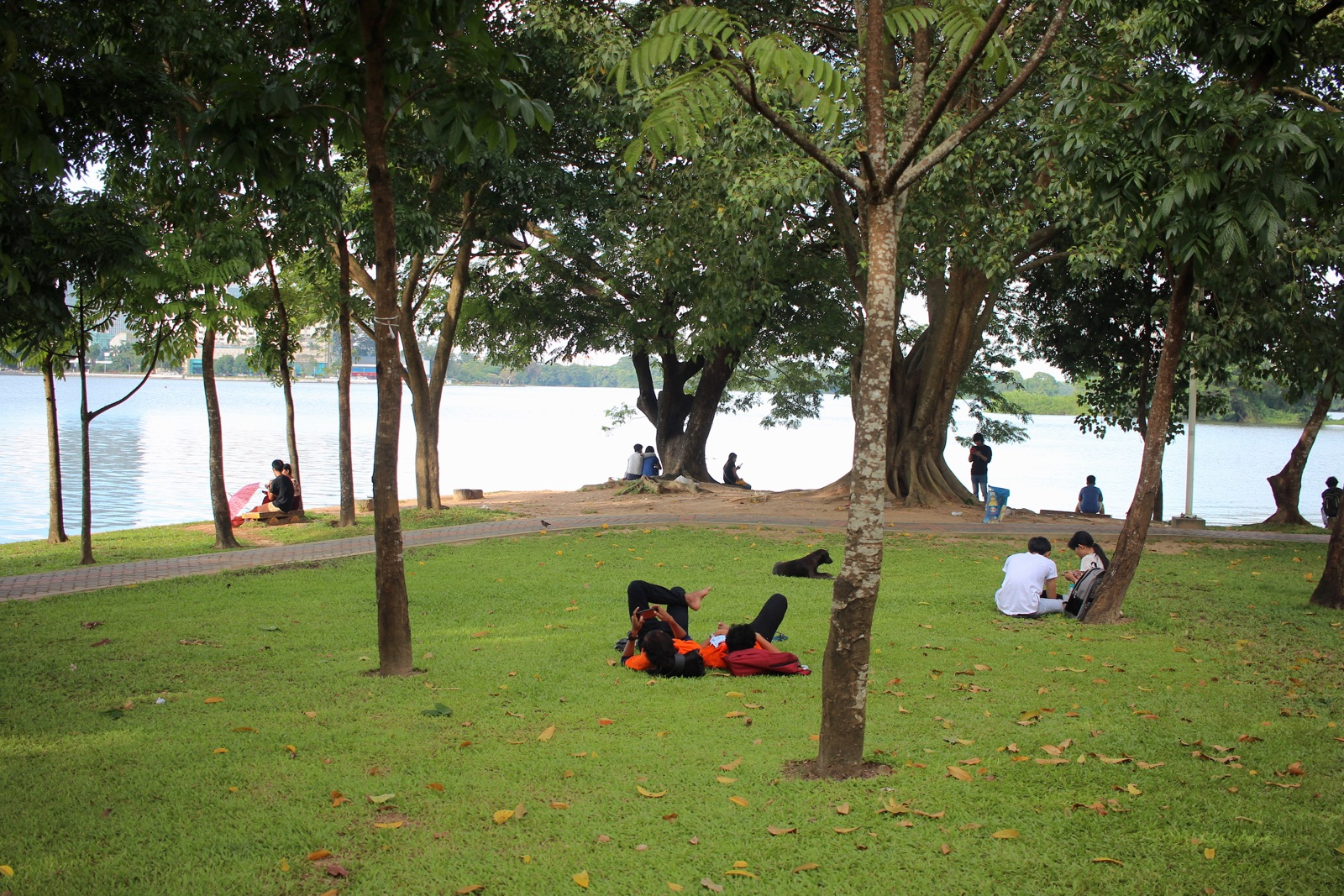 Couples at Inya Lake - New Naratif