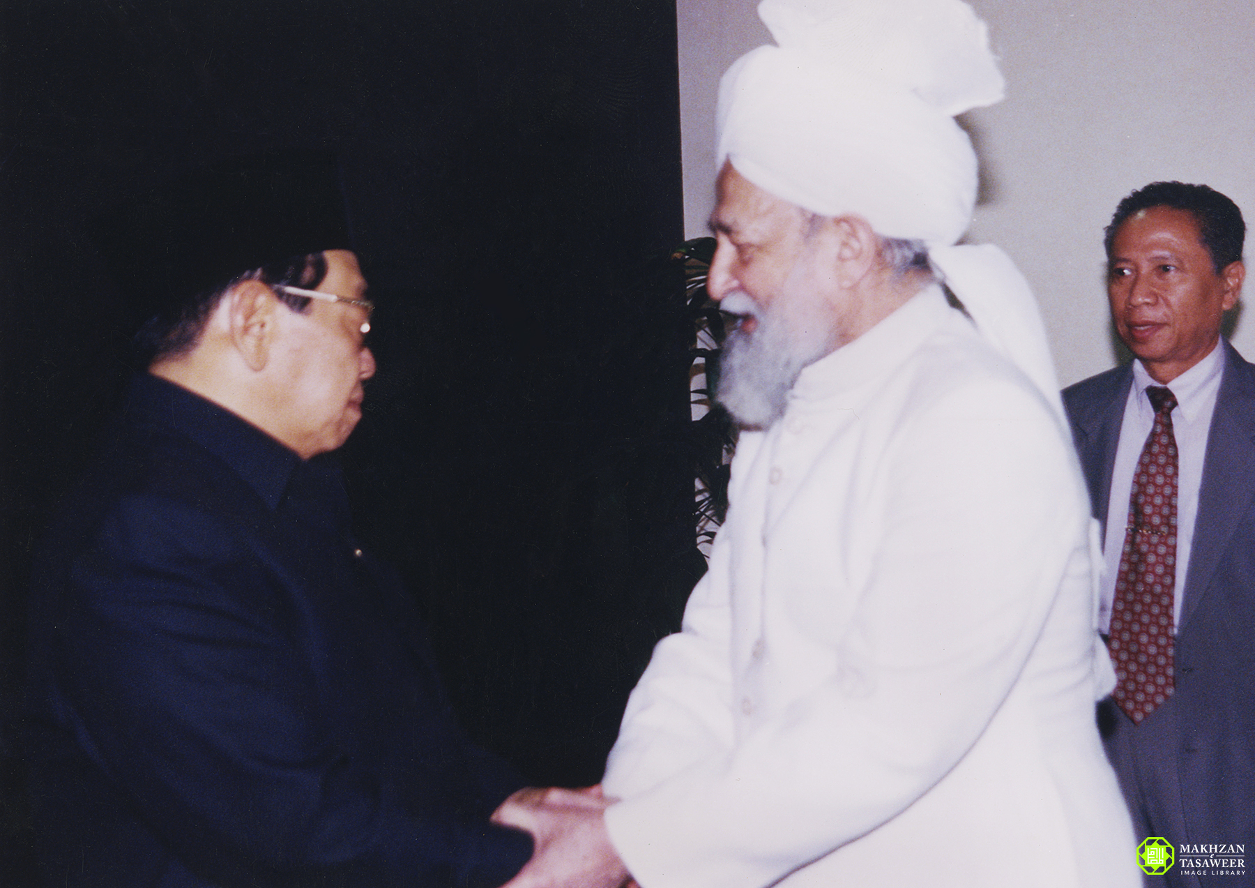 President Abdurrahman Wahid meeting KM4 28 June 2000 - New Naratif