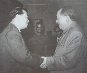 In 1965, Chairman Mao Zedong met Chin Peng in Wuhan (photograph from My Side of History) - New Naratif