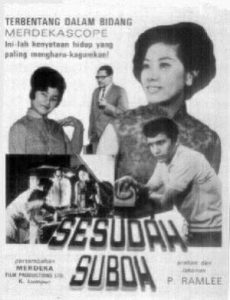 Film poster of Sesudah Suboh