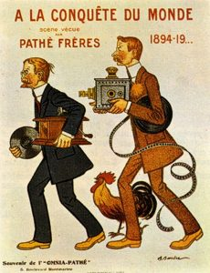 (3) Picture of the Pathe Brothers