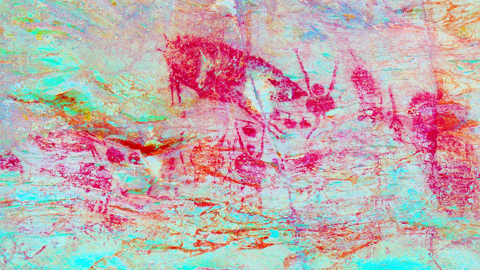 87 Gambar Abstrak Jingga
