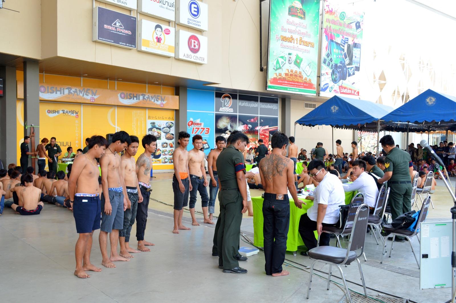 Thai Conscription - New Naratif