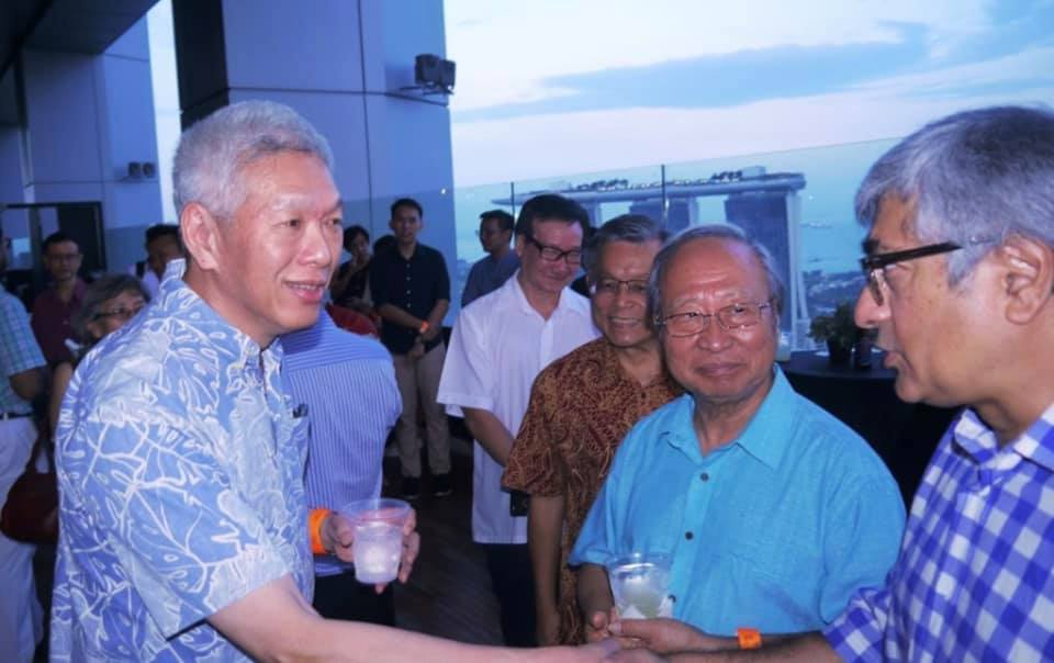 Lee Hsien Yang and Tan Cheng Bock - New Naratif